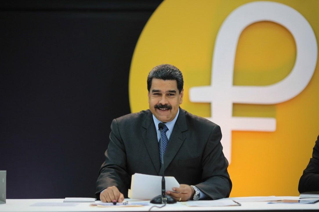 el presidente de venezuela nicols maduro anunci que la preventa de la criptomoneda petro alcanz ms de 5000 millones de dlares en compradores de 133